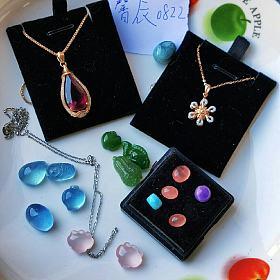新帖低出大仓,绿松珍珠和田水晶彩宝都有1.5元杂货铺