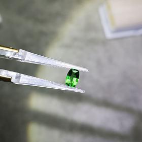 电光绿沙弗莱0.72克拉