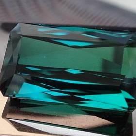 950(大颗完美净度孔雀)💎蓝碧玺戒面吊坠裸石28克拉