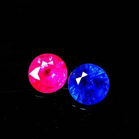 共82分缅甸红宝石+斯里兰卡蓝宝石(加热)
