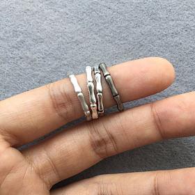 各种花色竹戒指来啦!