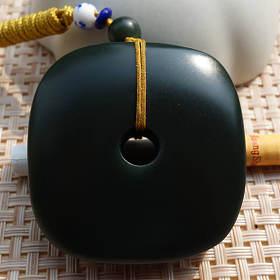 铭玉收藏---一细青玉玉琮1450元