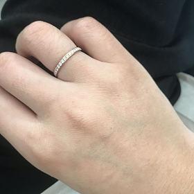 265克价出个18k满钻戒指