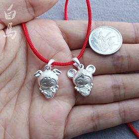 生肖福娃 猪宝宝和鼠宝宝