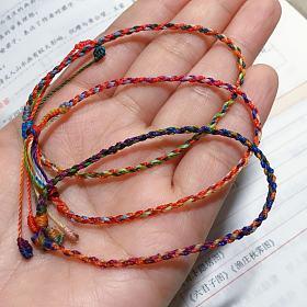 手绳 南美蜡线 编绳 手串隔绳