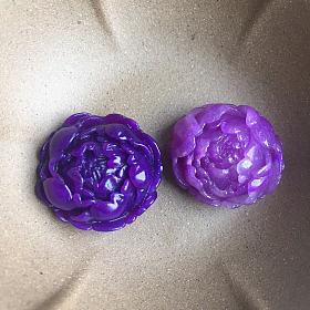 舒俱来 牡丹花 皇家紫