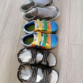 翻出3双宝宝新的鞋