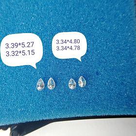培育钻石 配对水滴