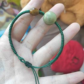绿松石 战国红玛瑙手串