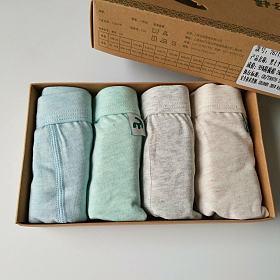 精梳棉~男童女童盒装内裤福利。