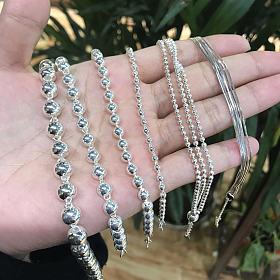 纯银手镯耳环吊坠