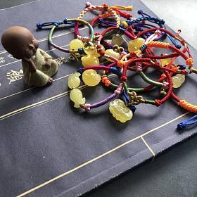 儿童节礼物好备起来啦!刚刚做出来一波萌萌哒宝宝手绳!