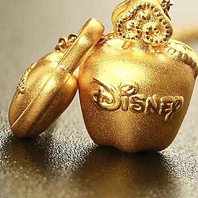 半价出迪士尼足金小苹果礼盒458包邮 原价1188