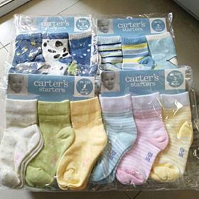【三】出日韩、法国、德国等外贸全棉/精梳棉婴幼儿袜,学生袜,中筒袜,连裤袜