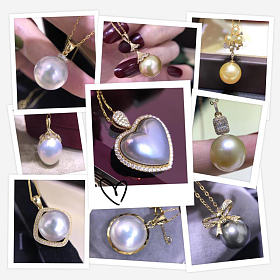 珍珠吊坠 耳饰 手链 戒指100个款式可选