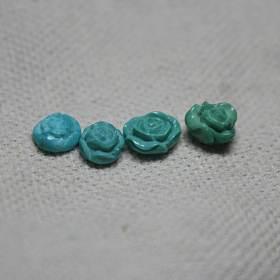绿松石小花。