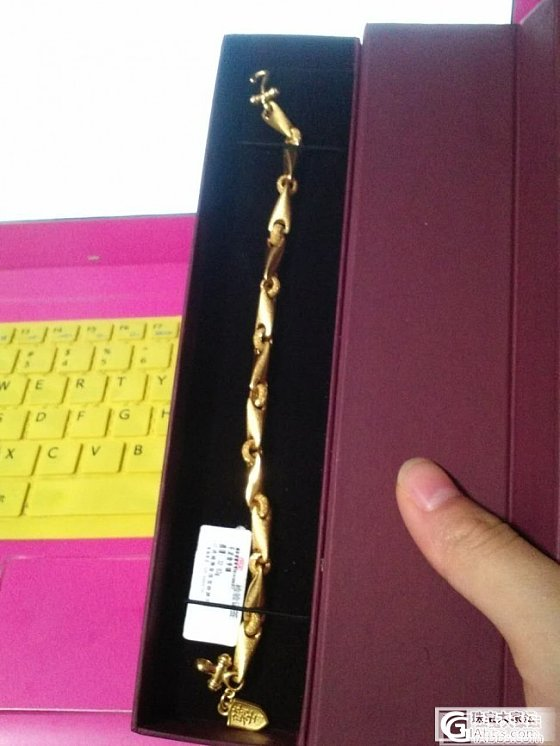 今天买了周大生的金链子,买完逛论坛有人说这是个山寨牌子,质量不好,现在很郁闷_金