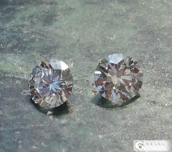 两颗34分的裸钻能做什么?_钻石