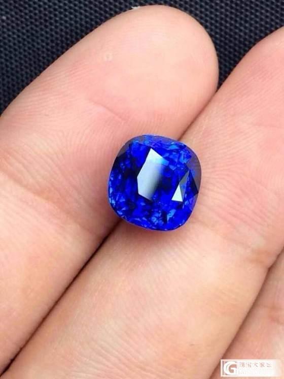 """印度的""""克什米尔""""蓝宝石特征的疑问 有图求解答_蓝宝石"""