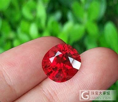 欣赏一颗拍卖级的缅甸鸽血红尖晶,6克拉!_尖晶石刻面宝石