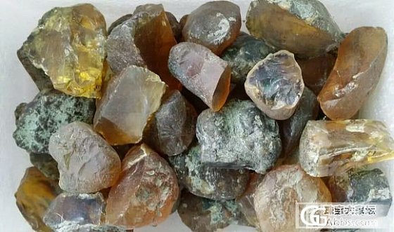 原价转配件银饰空托,送缅甸原石_银琥珀原石