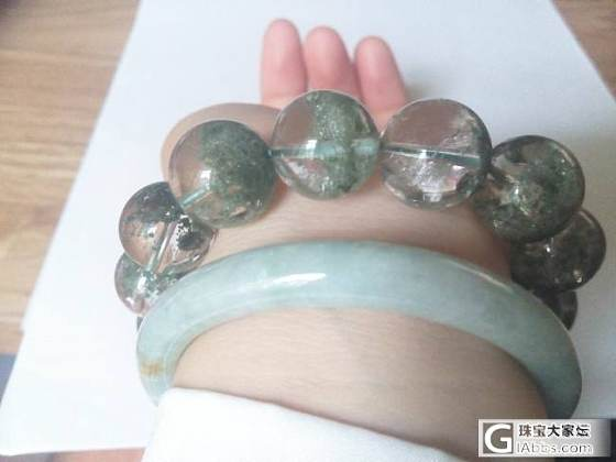 出坑各种出,绿幽灵为主,还有金发晶和其他_珠宝