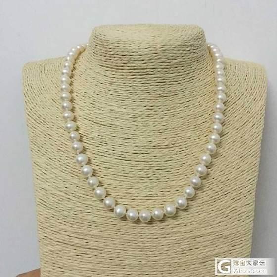 《卡缘珠宝》 感恩母亲节!天然珍珠项链特惠价!_珠宝