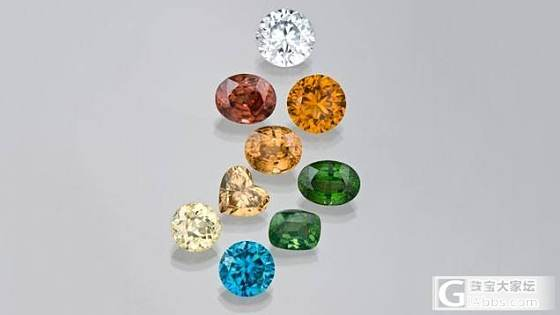 【图文资料】12种高色散宝石详解_彩色宝石少见宝石刻面宝石