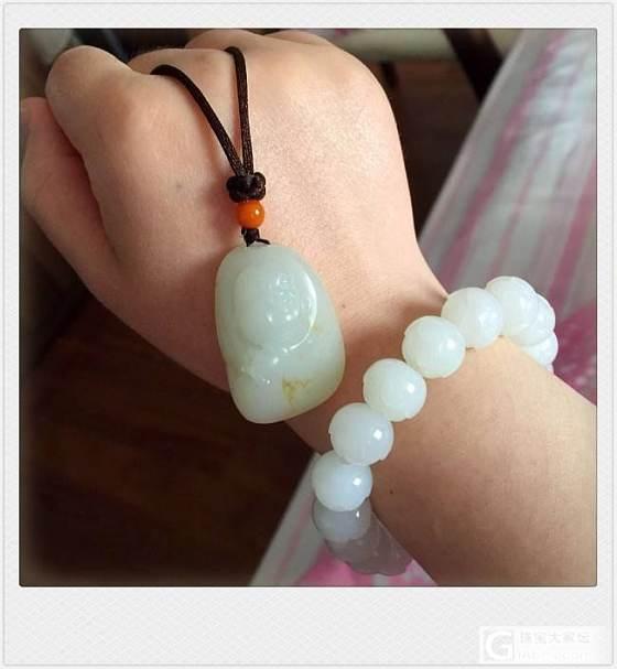 小白晒晒上海珠宝展收获的和田白玉,请指教_和田玉