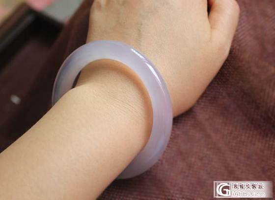 【挽玉阁】紫色甜美玉髓手镯    300元包顺_挽玉阁