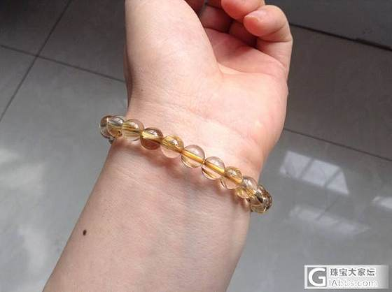 新手买了个小珠子发晶手串,请大神来看看,谢谢_发晶珠串