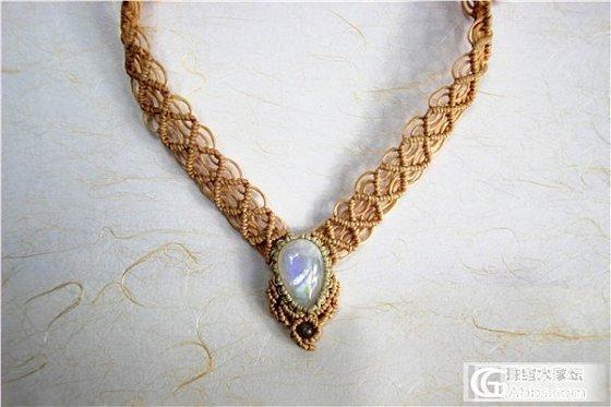 开了个工作室~南美编织宝石共赏_编绳彩色宝石