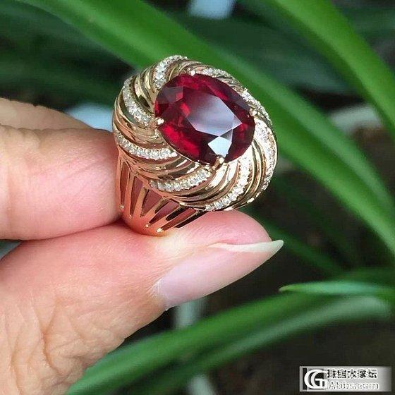 【晶。玺】7.04新货糖果色碧玺手链、鸽血红碧玺戒指、吊坠_宝石