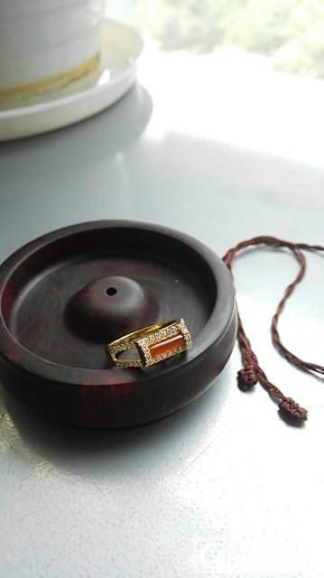 籽佛牌、籽十字、小莲蓬、红翡戒、红宝戒,大仓换米_传统玉石