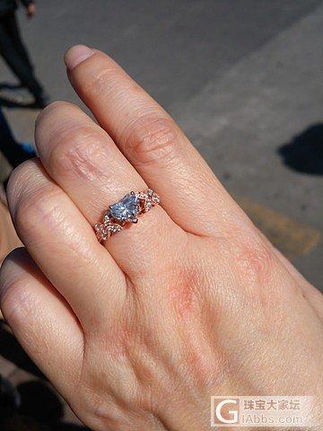 求教一下,一卡的钻,中等蓝荧光,阳光下影响有多大?_钻石