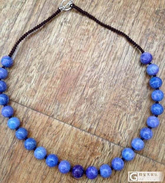 大家看看不多见的蓝紫色哦_宝石