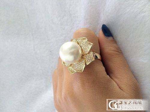 神秘高贵的黑珍珠   大家鉴赏哈!!_镶嵌珠宝