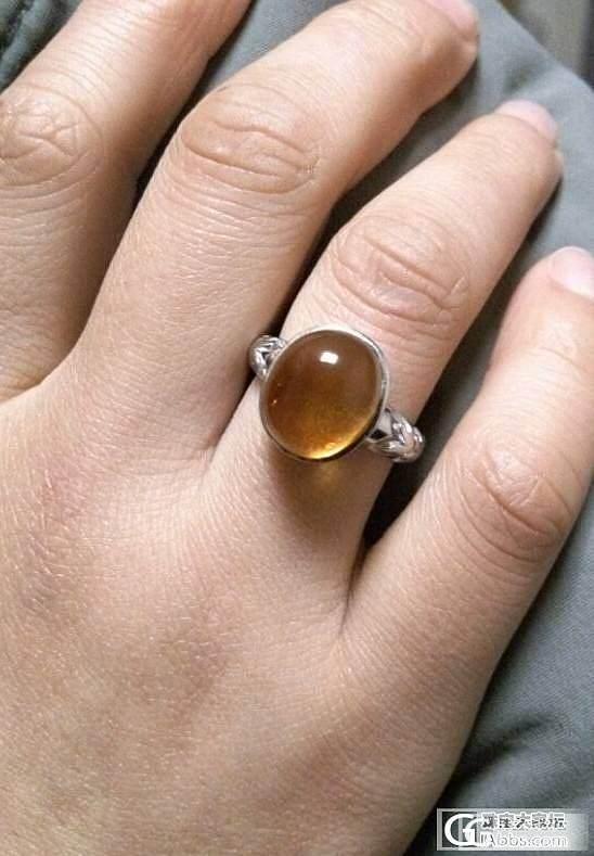 继续磨琥珀戒指---第4个过程_琥珀
