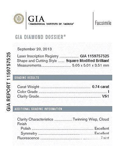咨询个问题呀,这个GIA证书编号字体是不是正确呀?_钻石