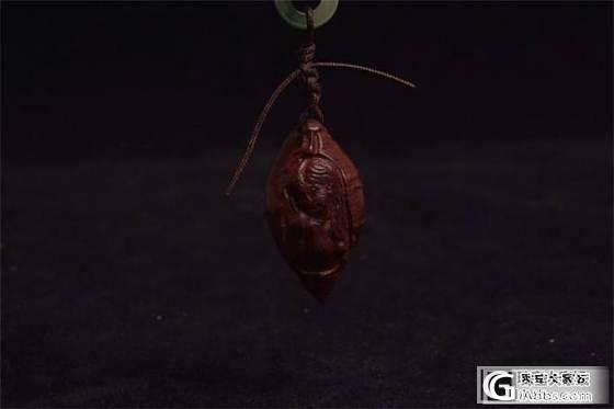 8月25日黄杨木20mm18mm15mm佛手 三圣菩萨 小叶紫檀挂件_珠宝
