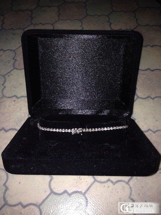 钻石手链求求求_钻石