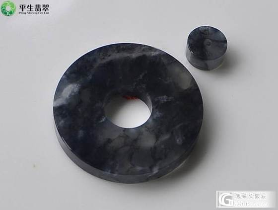 【平生翡翠】 140411001 黑冰怀古套装 售价:8800元_平生翡翠
