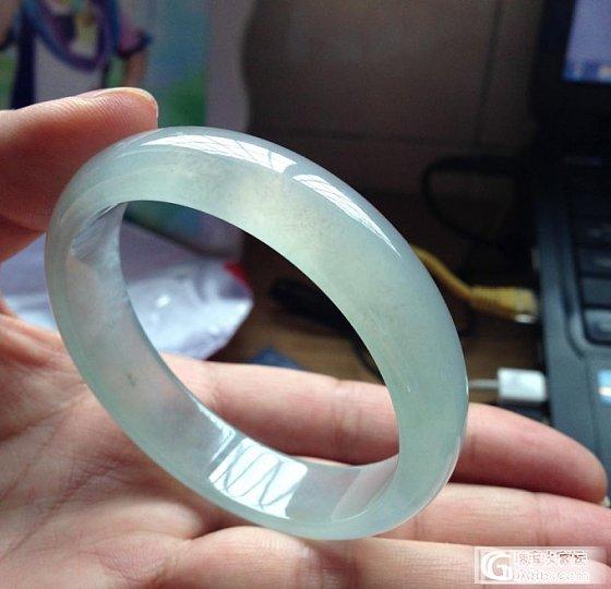【坛友 底价:4万】冰 起 光:手 镯【手机照、视频】_翡翠