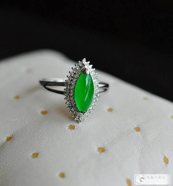 【双儿翡翠】三个妖娆妩媚绿戒指_双儿翡翠
