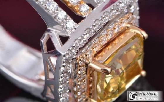 大神们帮看看一个3克拉的黄钻价值如何??_钻石