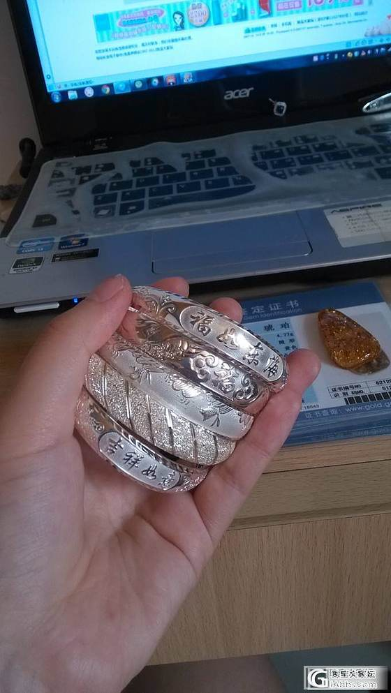 想买银镯,哪家的合适呢  姑娘们推荐过来!_银