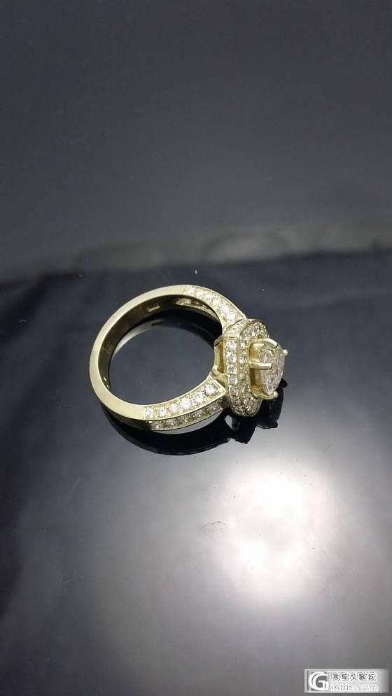 爱心钻戒_钻石