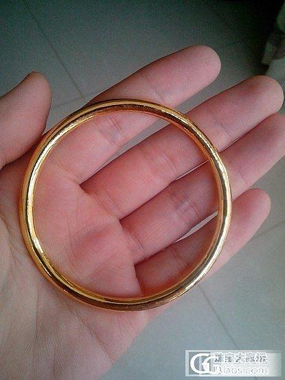 金胖,小戒指 ------ 来自南京李师傅_金手镯戒指