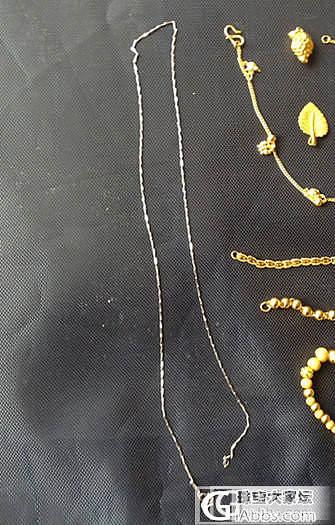 求一条铂金细链……_金