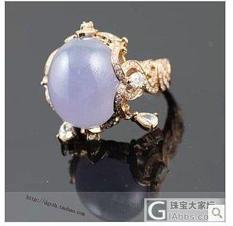 一白玻璃圆蛋面,求镶嵌款式及价格_珠宝